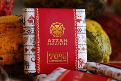 azzan chocolate - dark chocolate thủ công